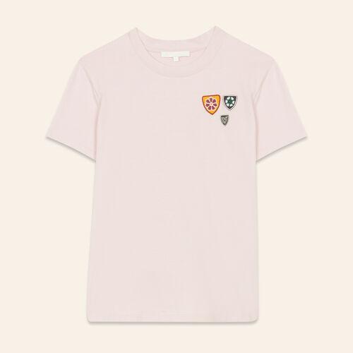 Basic cotton T-shirt - Tops - MAJE