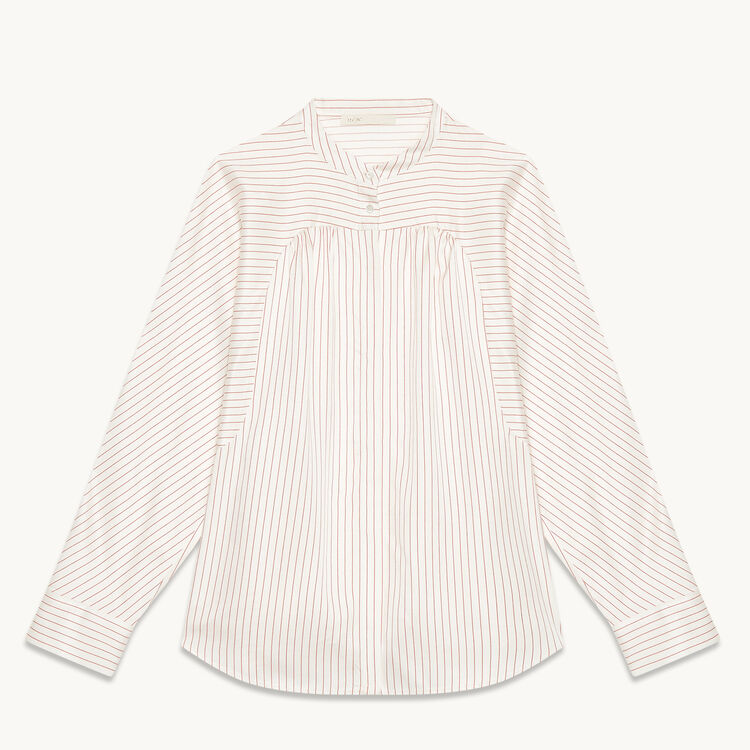 Floaty striped shirt - Tops & T-Shirts - MAJE