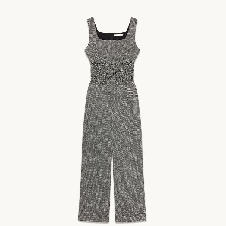 Jacquard jumpsuit - Pants & Jeans - MAJE