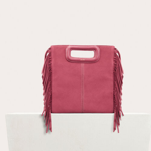Suede M bag - See all - MAJE