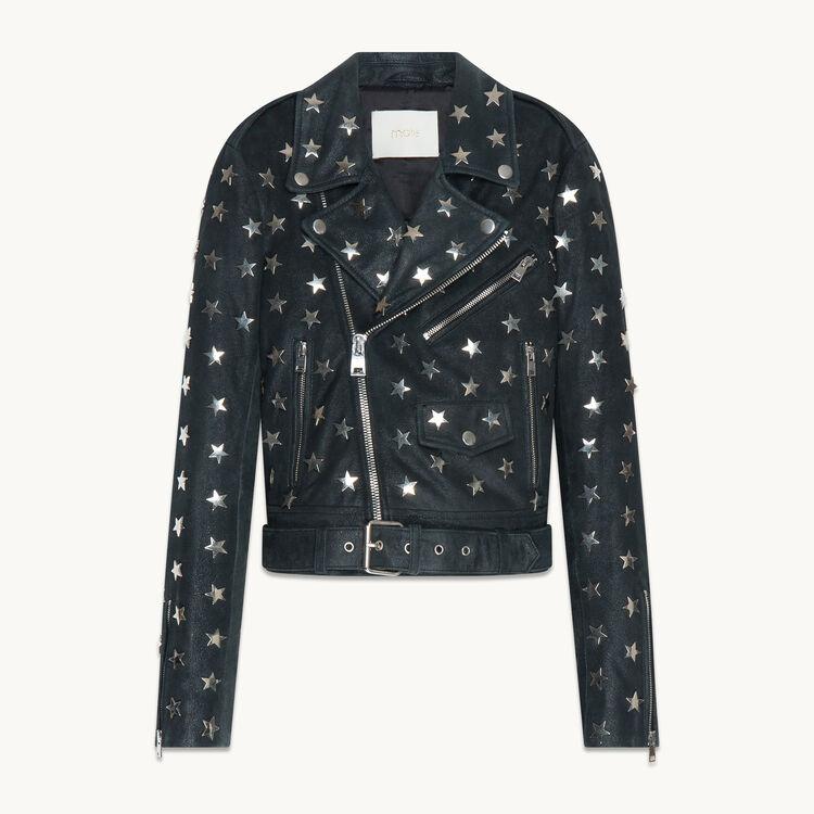 Lambskin leather jacket - Jackets & Bombers - MAJE