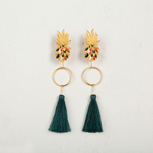 Tassel earrings - Voir Tout - MAJE