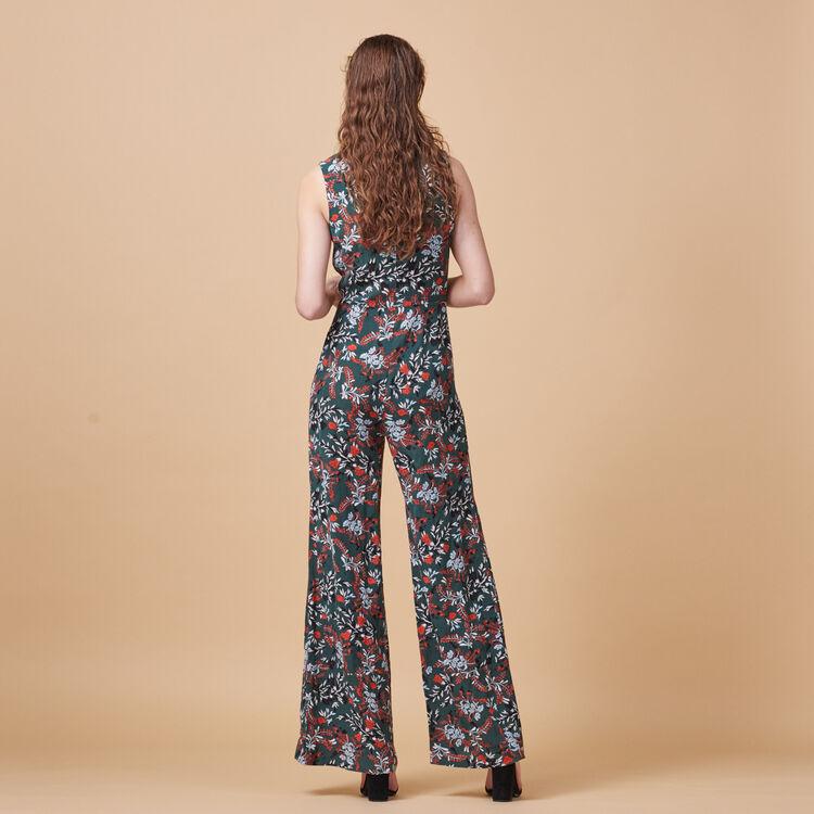 Printed jumpsuit - Pants & Jeans - MAJE