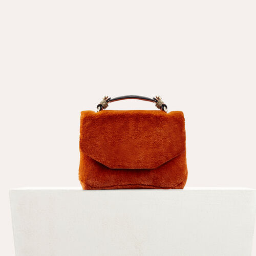 Faux fur bag - Shoulder bag - MAJE