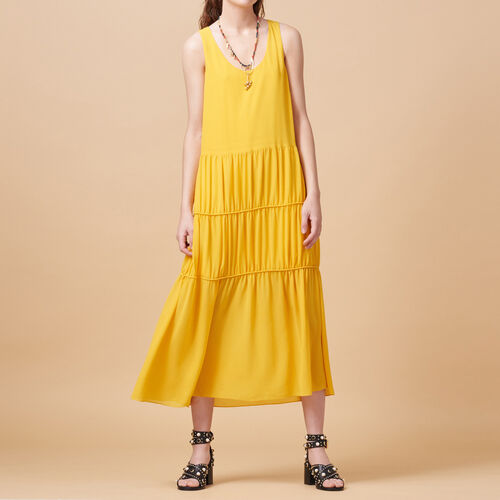 Long sleeveless dress - Dresses - MAJE