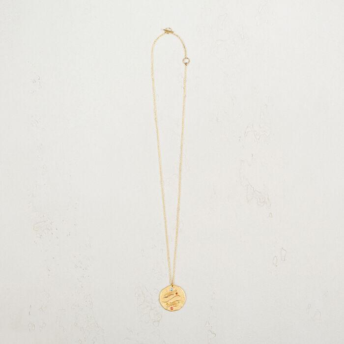 Pisces zodiac sign necklace -  - MAJE