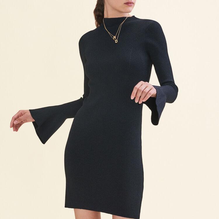 Robe en maille Lurex - Robes - MAJE