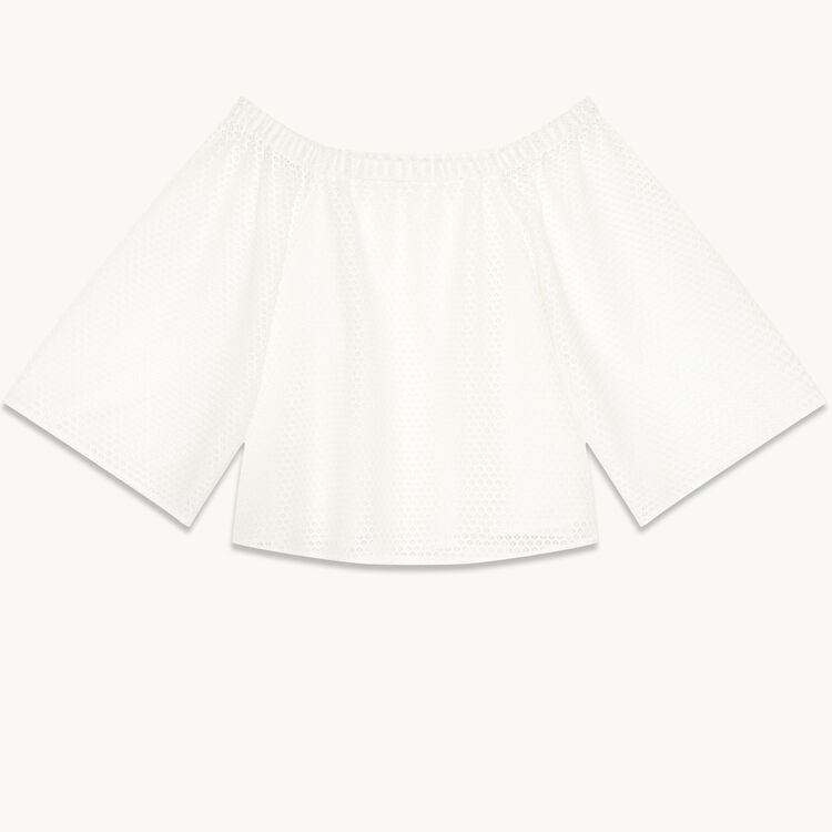 Lace top - Tops & T-Shirts - MAJE