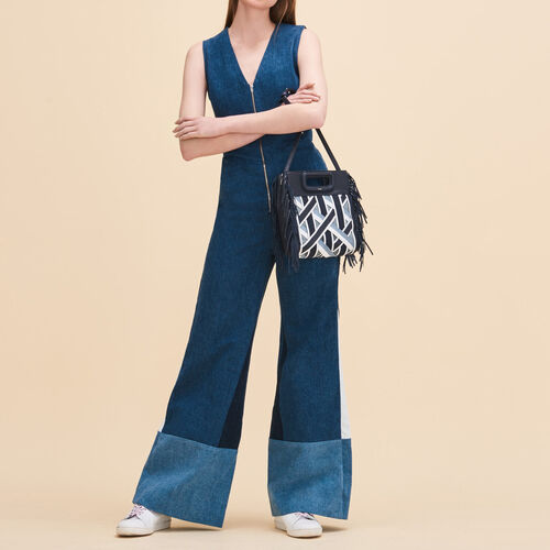Sleeveless jumpsuit - Jeans - MAJE