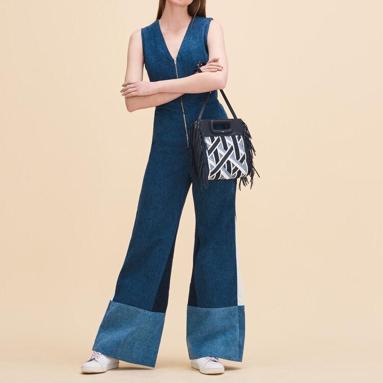 Combi-pantalon sans manches - Jeans - MAJE