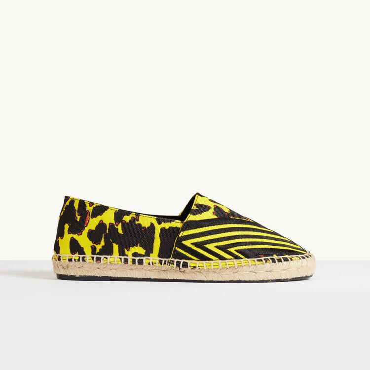 Espadrilles imprimées - Chaussures - MAJE