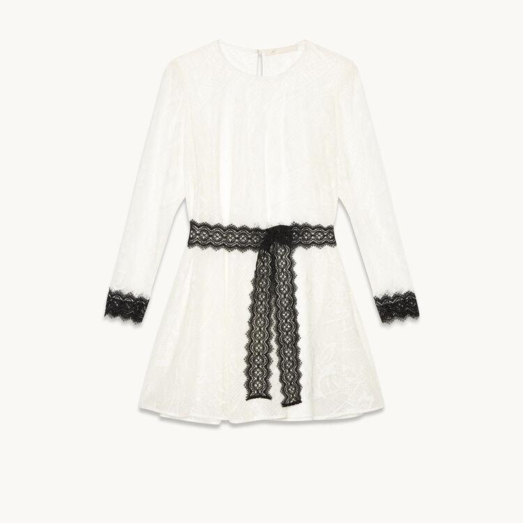 Short lace dress - Dresses - MAJE