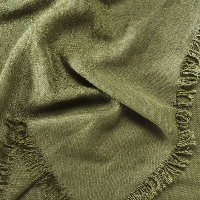 Cotton blend  shawl -  - MAJE