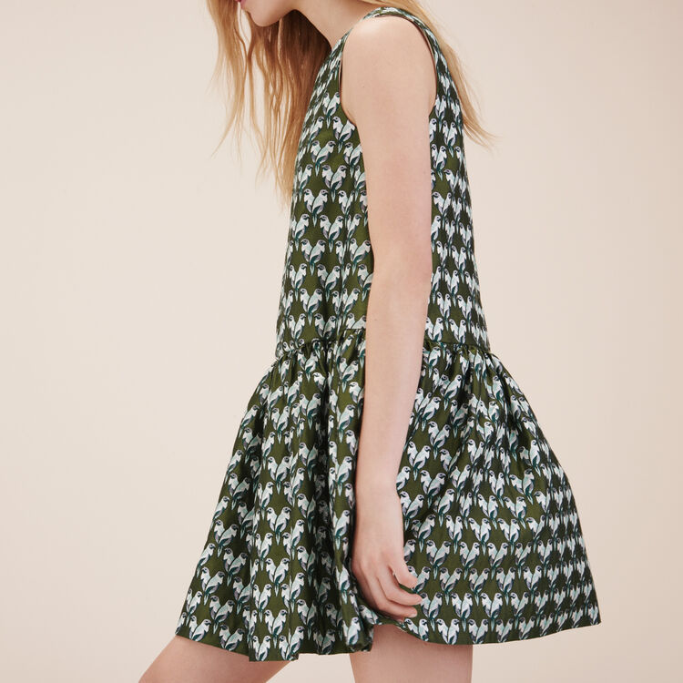 Jacquard sleeveless dress - Dresses - MAJE