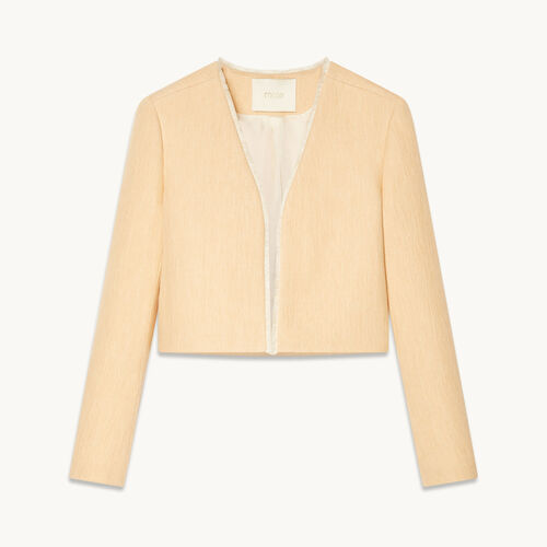 Short jacket - Coats & Jackets - MAJE