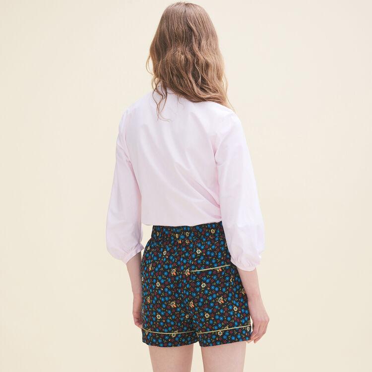Camisa amplia de popelina - Tops - MAJE