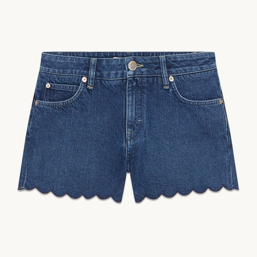 Shorts aus Denim - Röcke & Shorts - MAJE