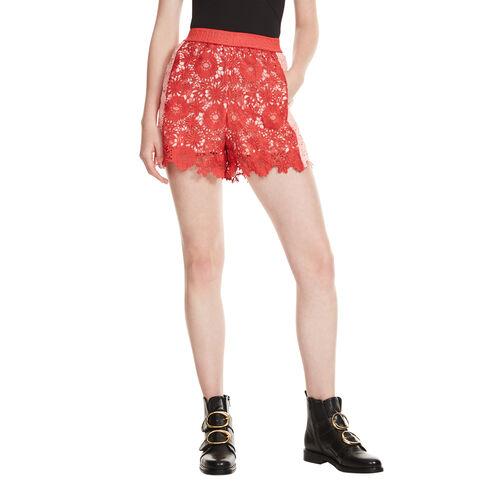 Shorts aus Gipüre - Röcke & Shorts - MAJE
