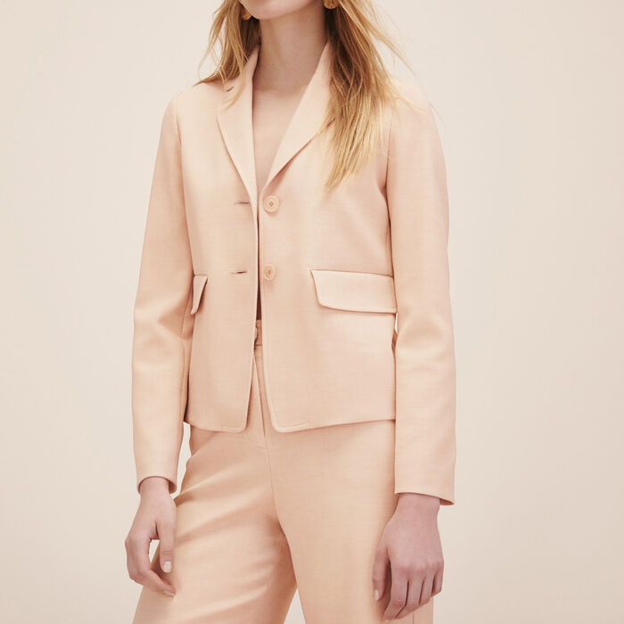 Tailored jacket -  - MAJE