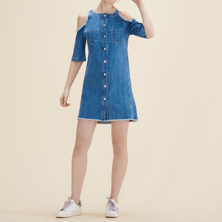 Robe en jean - Robes - MAJE