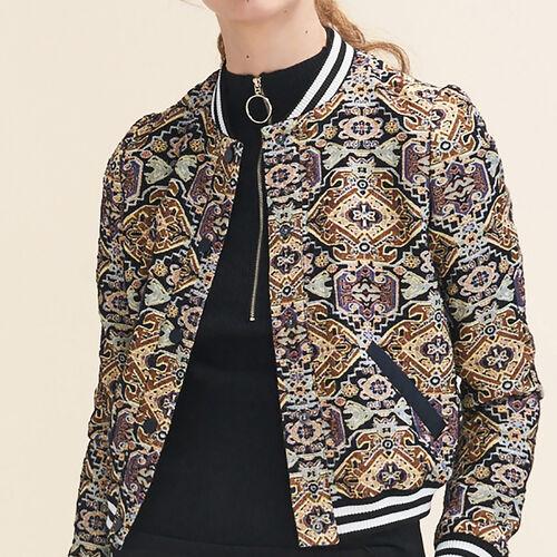 Jacquard jacket - Jackets & Bombers - MAJE