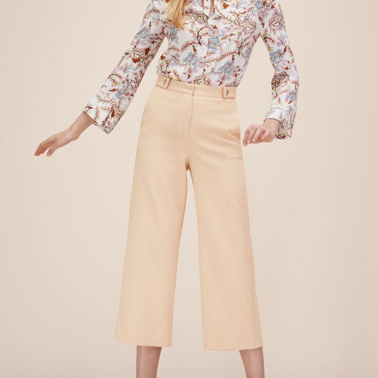 Pantacourt large - Pantalons - MAJE
