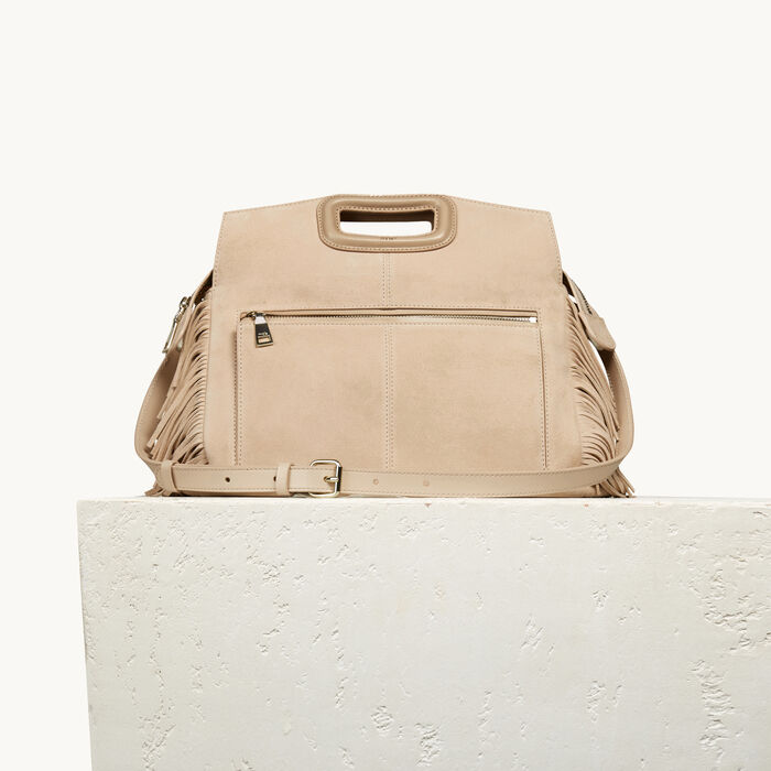 Suede M Walk bag -  - MAJE