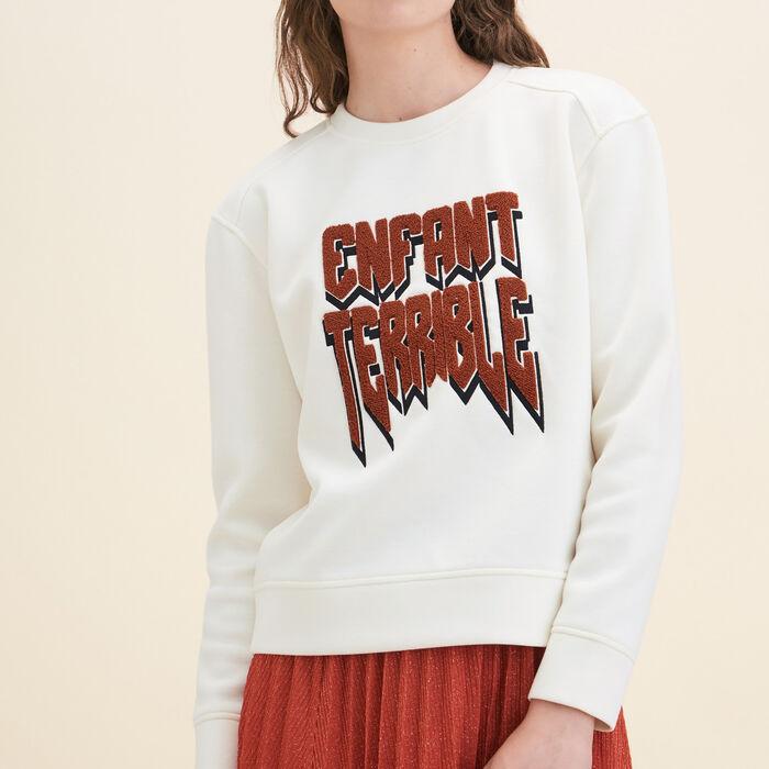 Neoprene Sweatshirt -  - MAJE