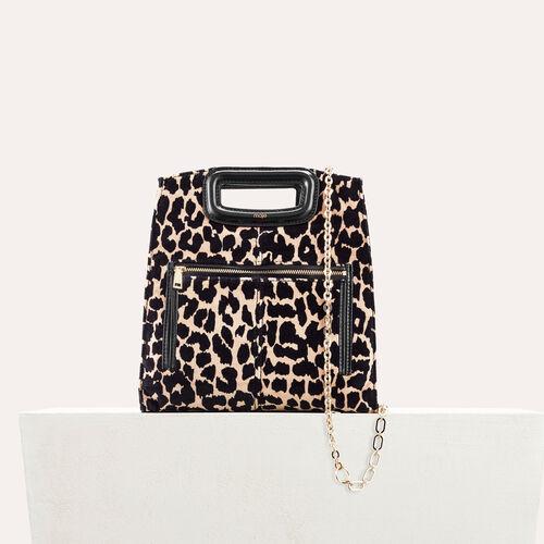 Leopard print bag - All bags - MAJE