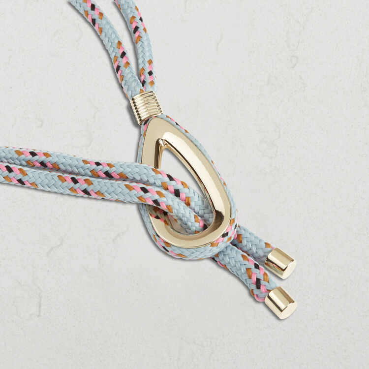 Rope belt with jewellery detailing - Shoes & Accessories - MAJE