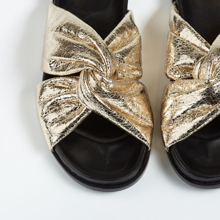 Satin mules - Shoes - MAJE