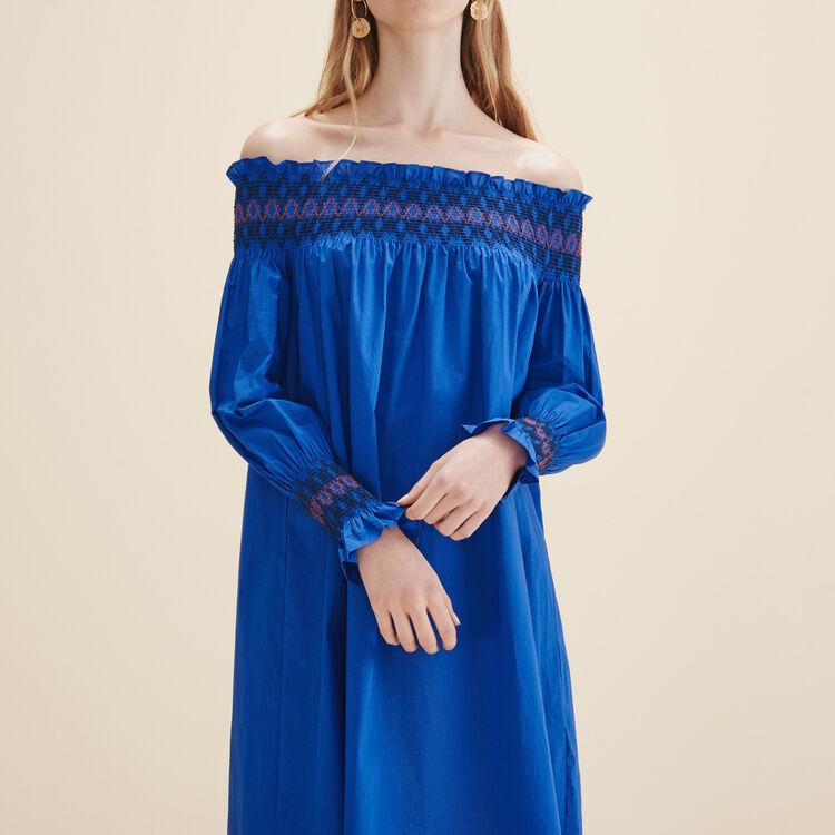 Robe avec épaules dénudées - Robes - MAJE