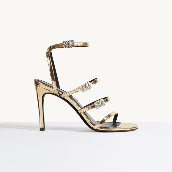 Heeled sandals -  - MAJE