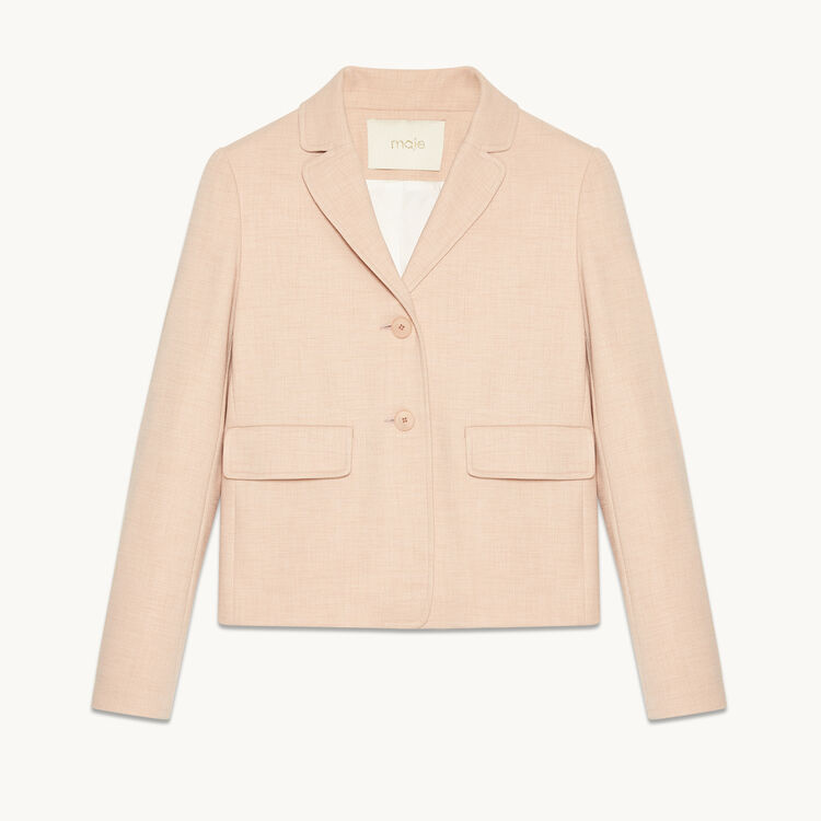 Tailored jacket - Coats & Jackets - MAJE