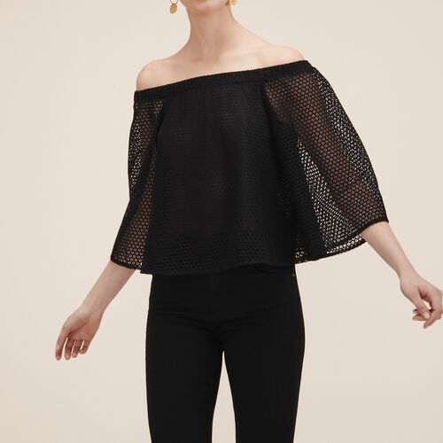 Top in pizzo - Tops - MAJE