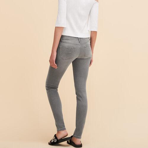 Vaquero ceñido - Jeans - MAJE