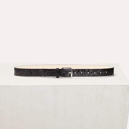 Sequin belt - Gürtel - MAJE