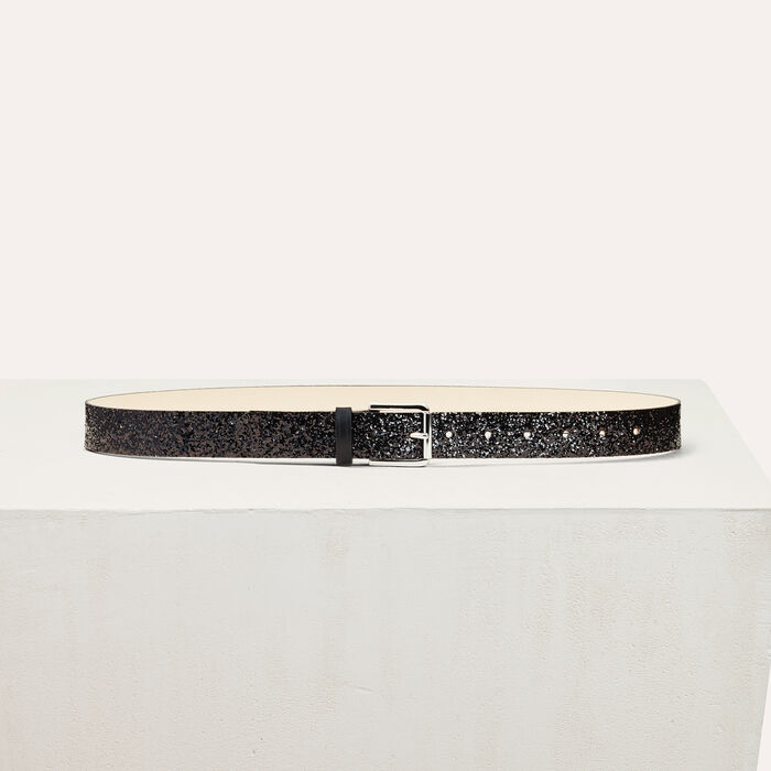 Sequin belt -  - MAJE