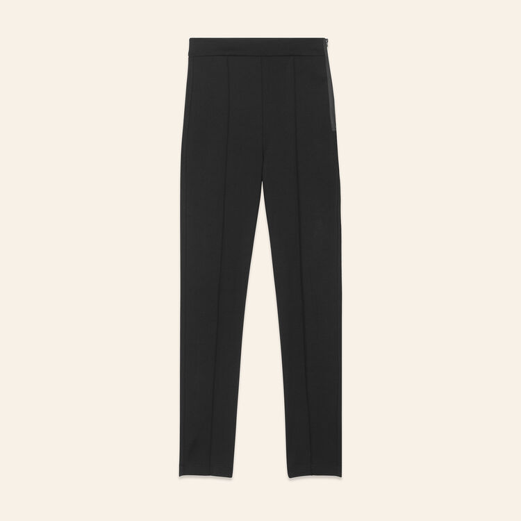 Leggings with stirrups - Pants & Jeans - MAJE