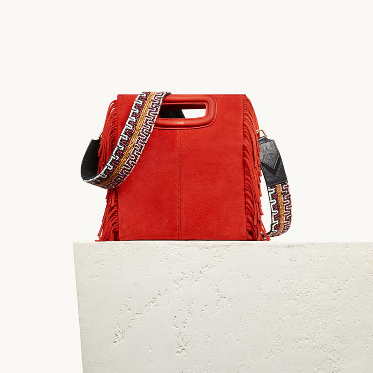 Shoulder strap for bag with beading - All bags - MAJE