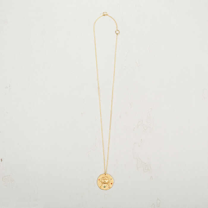 Collier signe du zodiac Cancer -  - MAJE