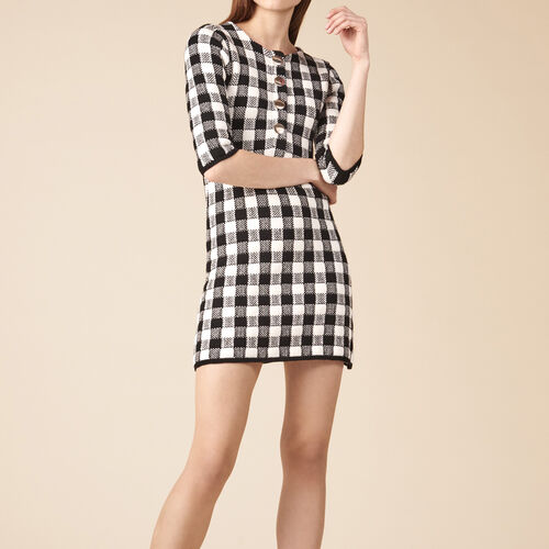 Short knit dress - Dresses - MAJE