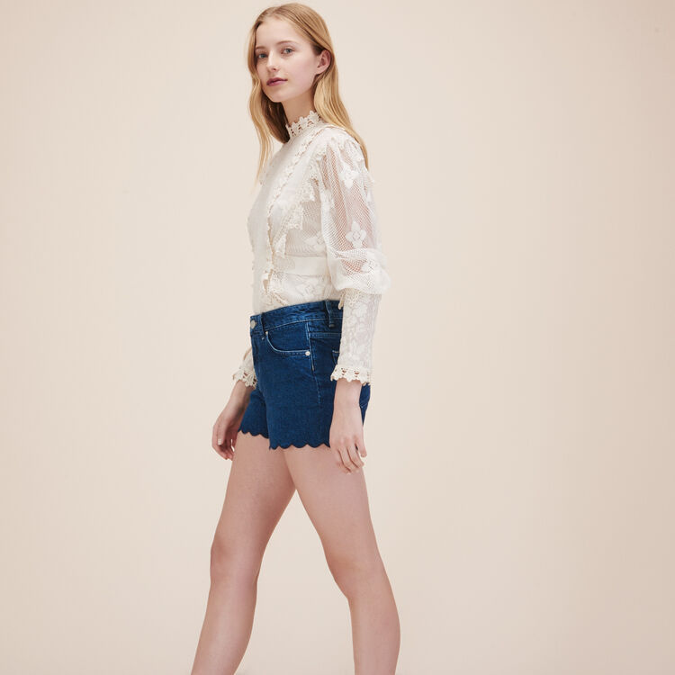 Denim shorts - Skirts & Shorts - MAJE