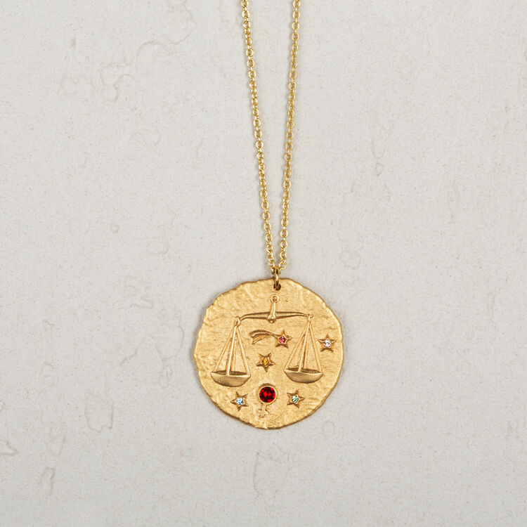 Libra zodiac sign necklace - Jewelry - MAJE