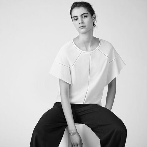Loose cotton top - Tops & T-Shirts - MAJE