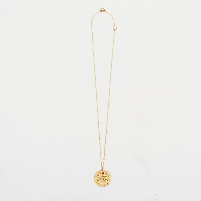 Taurus zodiac sign necklace - Jewelry - MAJE