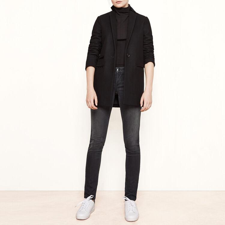 Jean skinny taille basse - Jeans - MAJE
