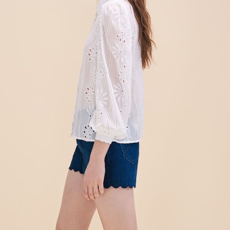 Lace shirt - Tops - MAJE