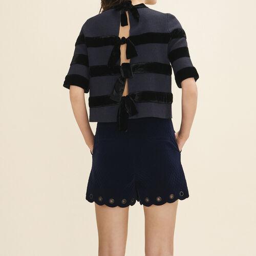 Locknit jumper - Knitwear - MAJE