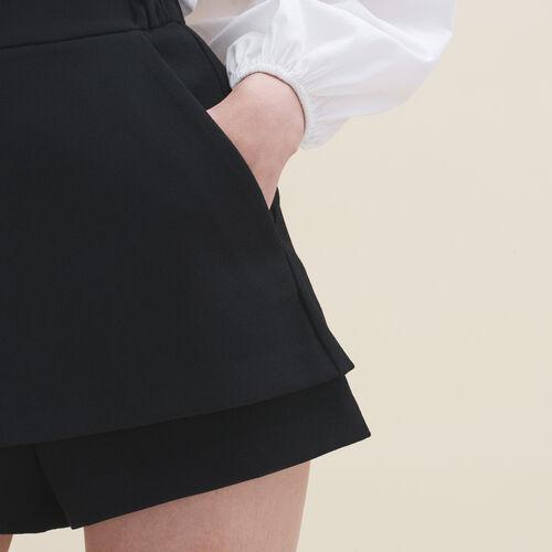Short 2 in 1 - Röcke & Shorts - MAJE